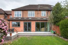 can i build a 2 storey extension on semi detached house Garden Room, Kitchen Diner Extension, Bungalow Extensions, House, Garden Room Extensions, House Exterior, Bifold Doors, Roof Extension, 1930s House
