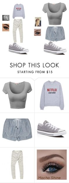 """""""Best Friends :)"""" by infinitee-vibez on Polyvore featuring rag & bone, Converse and Mes Demoiselles..."""
