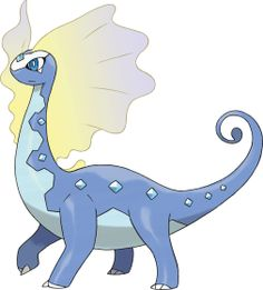 Auroros is a new ROCK/ICE-type Pokemon and the evolved form of Amaura.