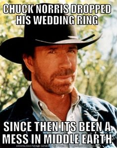 If someone tells a Chuck Norris joke in the woods and he's not around to hear it, will that person still die at the hands of Chuck? Chuck Norris hears everything. Chuck Norris pictures, facts, and memes have become so common, it's hard to remember a Chuck Norris Memes, Flirting Quotes For Him, Flirting Memes, Jonny Bravo, Funny Jokes, Hilarious, Memes Humor, Laugh Out Loud, Laughter