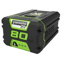 GreenWorks Lithium Ion Battery Landscaping has never been easier with GreenWorks Pro Max System. The most powerful cordless battery Las Vegas, Golf Cart Batteries, Lead Acid Battery, Led, Power Tools, Easy, Charger, Software, Youtube