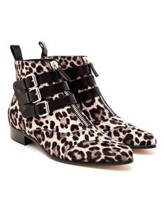 TABITHA SIMMONS | Early Ponyskin Ankle Boots | Browns fashion & designer clothes & clothing