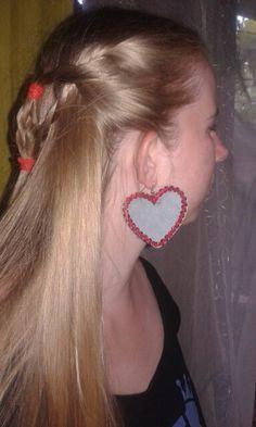 Farmer fülbevalo saját tervezés Farmer, Earrings, Beauty, Jewelry, Ear Rings, Beleza, Jewlery, Jewels, Cosmetology