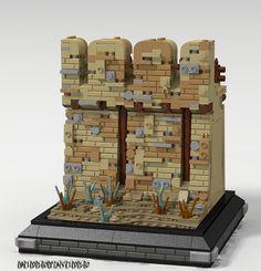 Wall technique by bidlopavidlo Legos, Lego Minecraft, Construction Lego, Lego Boxes, Lego Wall, Micro Lego, Lego Ship, Lego Pictures, Lego Trains