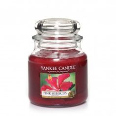 Yankee Candle Medium Jar - Pink Hibiscus