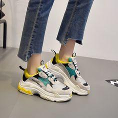 レディース靴スニーカーINS 大人気と同じデザイン スニーカー