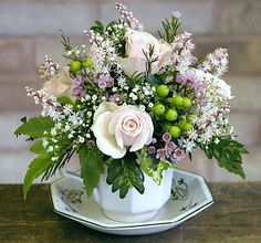 ~J    I pinned This beautiful cup of flowers for.....Janice Kelly....thank you for the nice message !