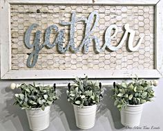 Creating this basic farmhouse styled frame has allowed me to style and change it up a few different way. Today I am sharing 3 ideas using one DIY Farmhouse Frame.