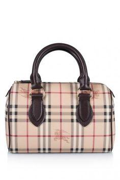 bb1ee383c24b Burberry Haymarket Chester Bowler Bag (THB 28