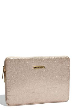 Juicy Couture 'Ed to the Stars' Laptop Sleeve (13 inch) Black or Gold $68
