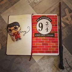 Mon bullet journal Harry Potter -  Wondermomes