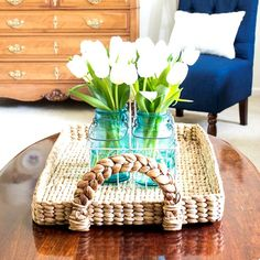 Adding Spring Greenery & Flowers to your Decor