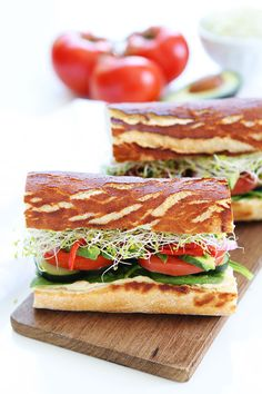 Ultimate Veggie Sandwich Recipe