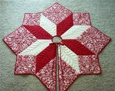 Quilting Magazines Tree Skirt Pattern - Bing images