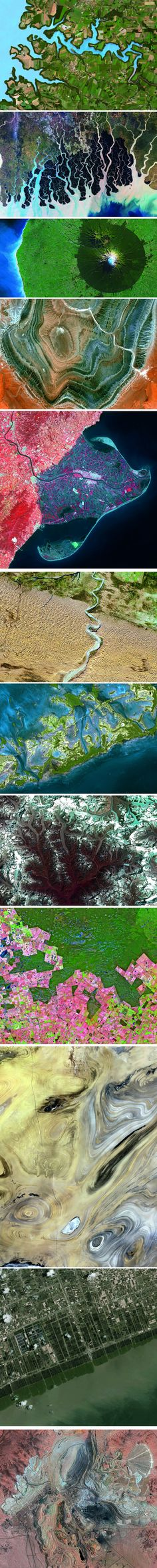 Earth from Space, by Yann Arthus-Bertrand, published by Abrams.