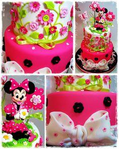 Minnie Mouse cake - by Galia Hristova @ CakesDecor.com - cake decorating website