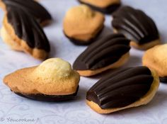 Madeleines coques en chocolat – You Cook Me