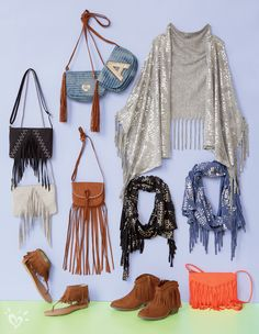 Add a finishing touch with fringe!