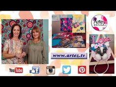 Encontrate con toda la creatividad en Artez TV. Miriam Blum modela un toallero para bebé con la nueva porcelana fría soft de Nicron. Rosana Ruiz te enseña a ...