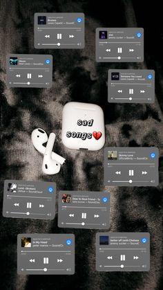 ig: @ashjin10 Depressing Songs, Weird Songs, Summer Playlist, Song Playlist, Music Mood, Mood Songs, Playlist Names Ideas, Positive Songs, Good Vibe Songs