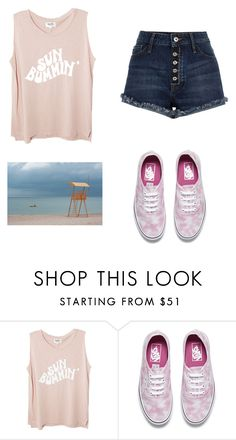 """Untitled #244"" by socialqueen101 ❤ liked on Polyvore featuring Vans and Summer"
