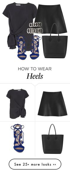 """""""Untitled #8014"""" by katgorostiza on Polyvore featuring FWSS, Steve Madden, Mulberry, Forever 21 and SteveMadden"""