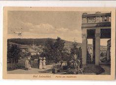 Vor dem Badehof 1918