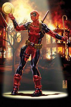Deadpool  - Mark Brooks
