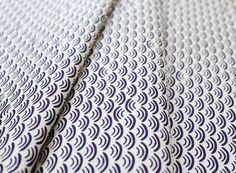 Cloud9 Fabrics KOI Smile & Wave Plum