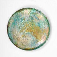 Beatrice Wood; Glazed Ceramic Charger, c1960.