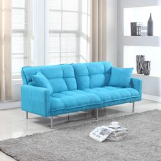Found it at Wayfair - Modern Plush Tufted Convertible Sofa