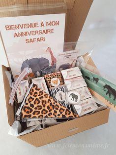 "Kit déco ""Safari"""