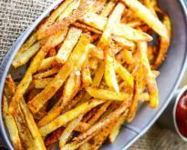 Extremely Crispy Oven Baked French Fries | Yummy Clip