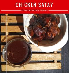 Chicken Satay bites with peanut sauce low syn buffet food Slimming World Chicken Satay, Fall Recipes, Healthy Recipes, Buffet Recipes, Healthy Food, Slimming World Starters, Peanut Satay Sauce, Chicken Satay Skewers, Side Dishes For Bbq