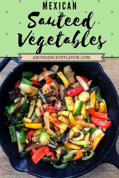 Mexican Side Dishes, Vegetable Sides, Vegetable Side Dishes, Vegetable Recipes, Vegetable Trays, Taco Side Dishes, Mexican Vegetables, Sauteed Vegetables, Veggies
