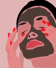this face mask actually lasts for ever.and kills zits too Mascara Hacks, Bb Beauty, Charcoal Mask, Homemade Face Masks, Facial Masks, Pop Art, Art Drawings, Illustration Art, Artsy