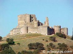 Castillo de Haro en Villaescusa de Haro.  Cuenca