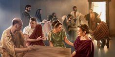 O apóstolo Pedro na Antioquia da Síria comendo com cristãos judeus, mas não com cristãos gentios