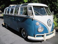 vw bus: VW Bus 21 Window Ragtop, 1967