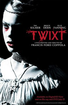 "Twixt   -This was a lot better film then it was given credit. This film is for anyone who is subjected to ""the creative process,"" real world obligations and unfortunate turns of fate. ""Twixt"" is really about the sabbaticals creatives have to take from their own artistic endeavors and the best refuge for them is to venture into the otherwise considered unhealthy ""dark"" to find not just inspiration but also catharsis."