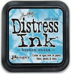 TIM HOLTZ: Distress Ink Pad (Broken China)