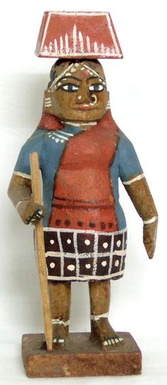 Village Woman (Wood))