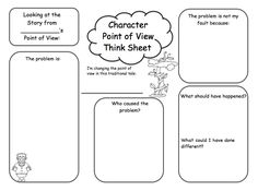 Fractured Fairy Tale Writing- Lesson on Perspective w
