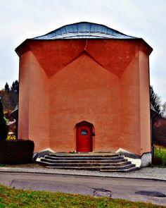 Haus de Jaager am Rüttiweg, erbaut 1921. Architektur von Rudolf Steiner