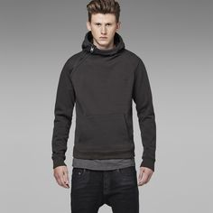 G-Star RAW | Men | Sweats | Navy Hooded Sweat , Raven