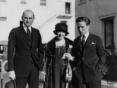 Sam Goldwyn, Mabel Normand, Charlie Chaplin