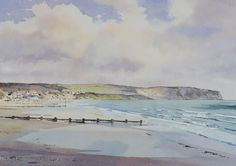 Oliver Pyle Fine Art, watercolour paintings, landscape paintings | Spring