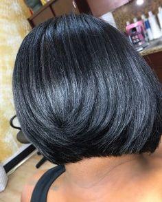 "1,417 Likes, 22 Comments - Rachel Redd (@rachel_redd) on Instagram: ""SOFT BLACK BOB #NaturalHair #TexturedHair #Bob #BobHaircut #Haircut #Cut #Haircolor #Color…"""