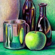 Art Lessons Oil Pastels Great Lesson for Still Life with Oil Pastels High School Art Less Oil Pastel Art, Oil Pastel Drawings, Pastel Artwork, Pastel Paintings, Oil Paintings, Art Drawings, Still Life Drawing, Still Life Art, Still Life Images