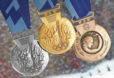 Salt Lake city Olympics medal 2002